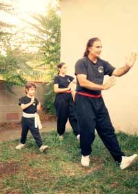 Buddha Zhen teaching at YMCA