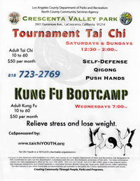 Tai Chi Youth nonprofit sponsor