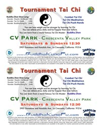 CV Park Tai Chi Classes and Kung Fu